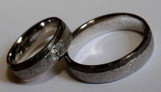 Hochzeitsringe Birgit S Und Mein Ehering Schillel Flickr