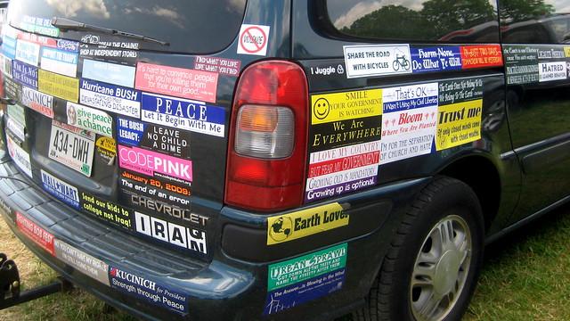 Car Parking Stickers Design