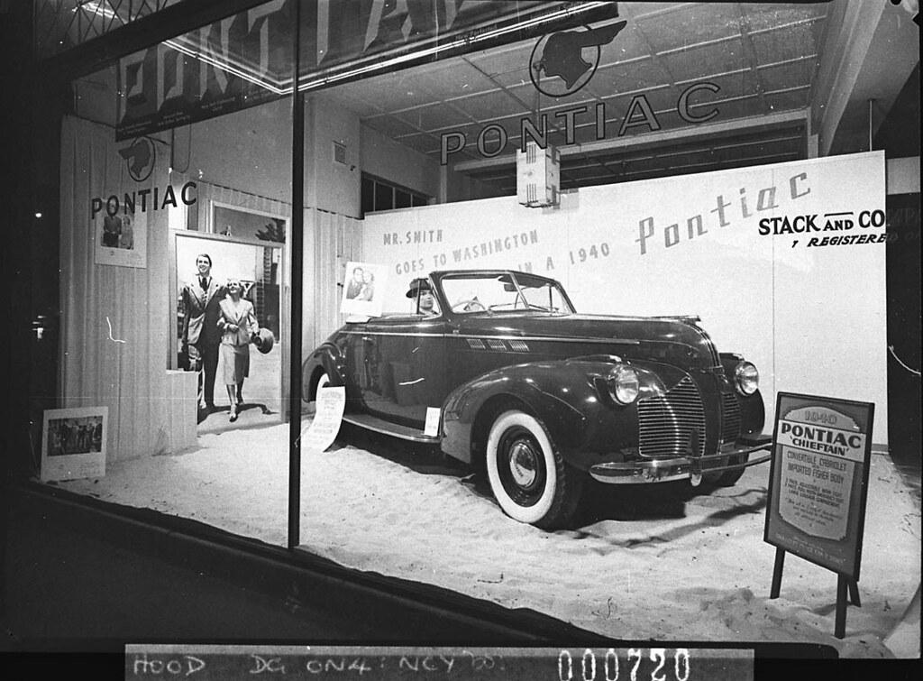 Pontiac showroom york st sydney january 1940 by sam ho for Pool showrooms sydney