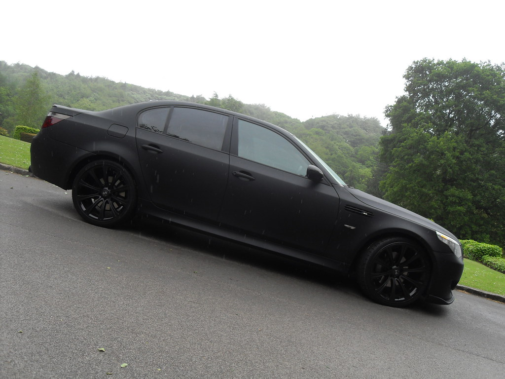 All sizes bmw e60 535d m5 replica matte black flickr photo sharing