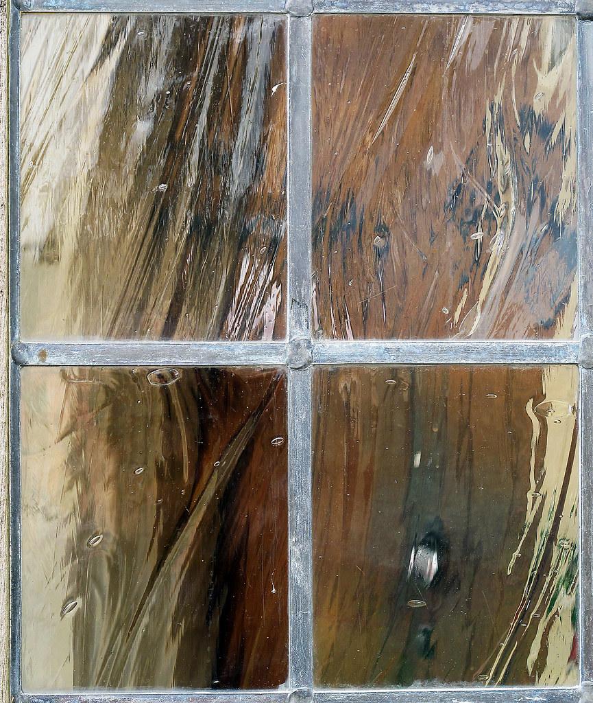 Bottom Of Antique Metal Trunk Rust On Living Room Flooring