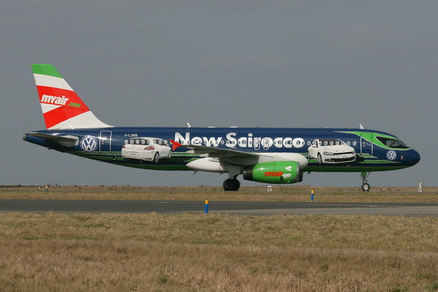Myair A320 I-LINB New Scirocco