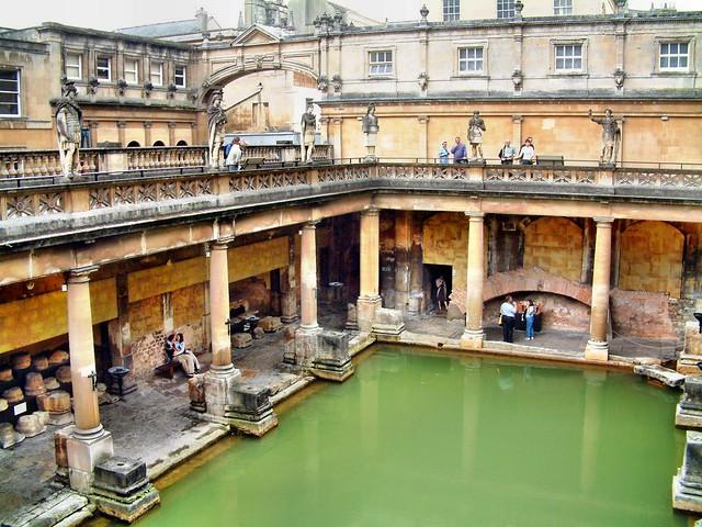 Baños Romanos Inglaterra:Baños Romanos – Bath – Inglaterra