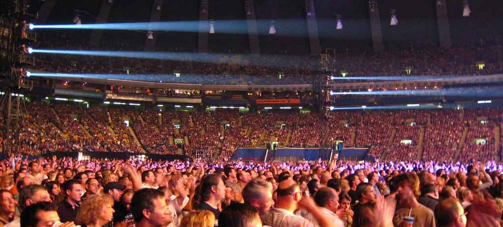 Phil Collins And Genesis Concert Crowd 56k And Counting