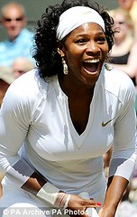 Serena Williams in Miami, Florida during a Tennis match. | by Pan-African News Wire File Photos