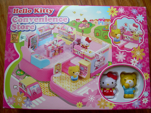 Popular Hello Kitty Toys : Best seller new hello kitty convenience store toys superma