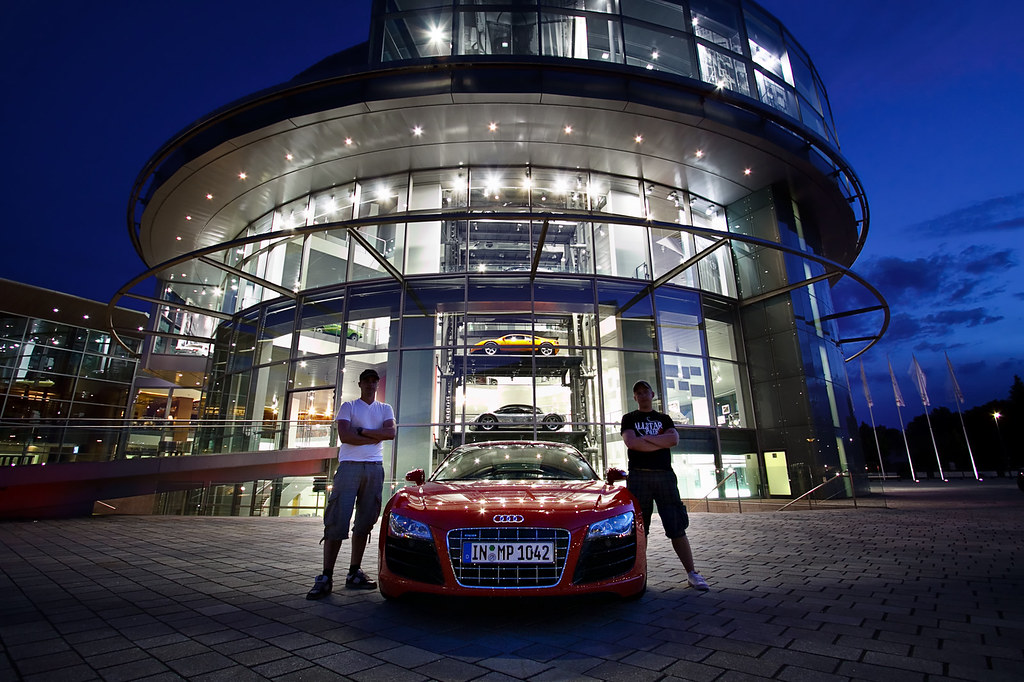 Audi Forum - Ingolstadt | On our way home from our ...