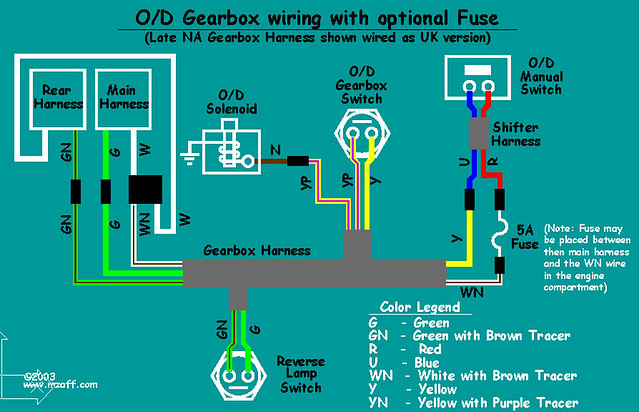 mgb overdrive wiring diagram (with fuse) the diagram tha\u2026 flickr 92 Cutlass Supreme Fuse Diagram mgb overdrive wiring diagram (with fuse) by jpl3k jipple28