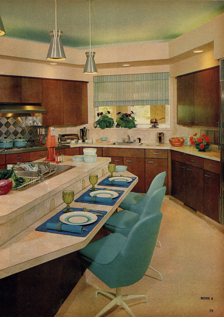 Model kitchen ii millie motts flickr for Kitchen design 60s