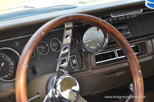American Muscle Car Interior York Raceway England May 20 Flickr