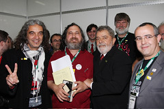Stallman Honoured in Brazil | by webmink