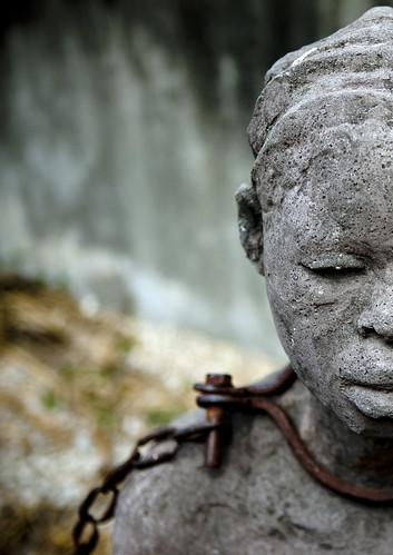 Statue of the Slavery monument in Zanzibar Stone Town, Tanzania | by Eric Lafforgue