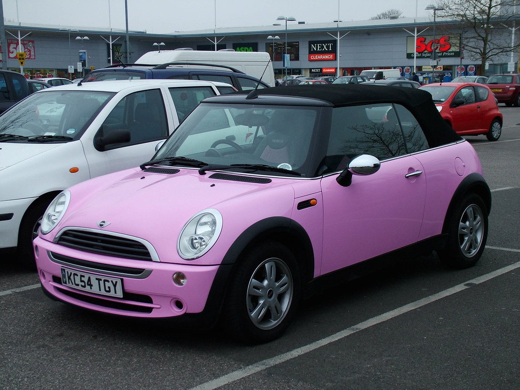 Pink Mini 2004 BMW Mini One Convertible Kenjonbro Flickr