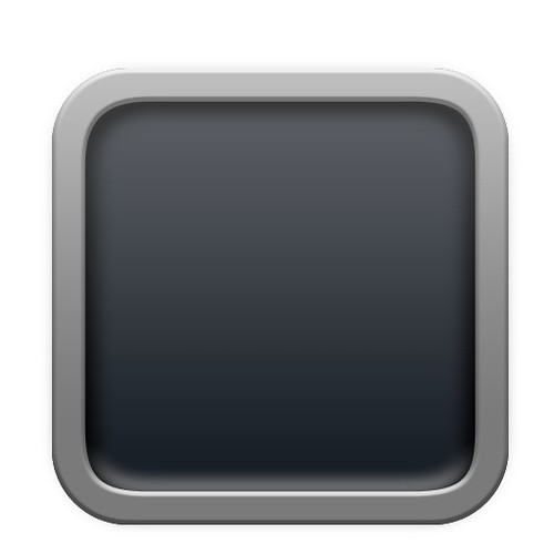 Blank system preferences iphone icon uploaded with for Iphone app logo template