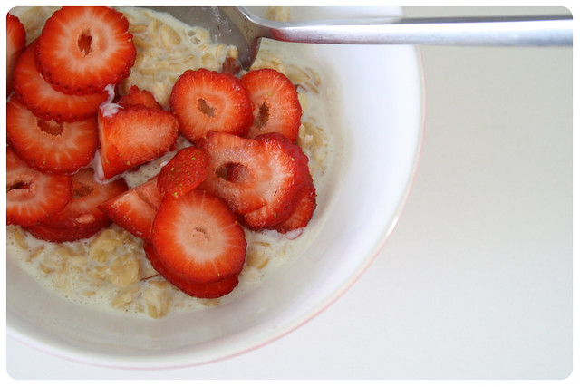Good Morning Strawberry Barley Porridge
