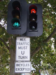 Mandatory U-Turn