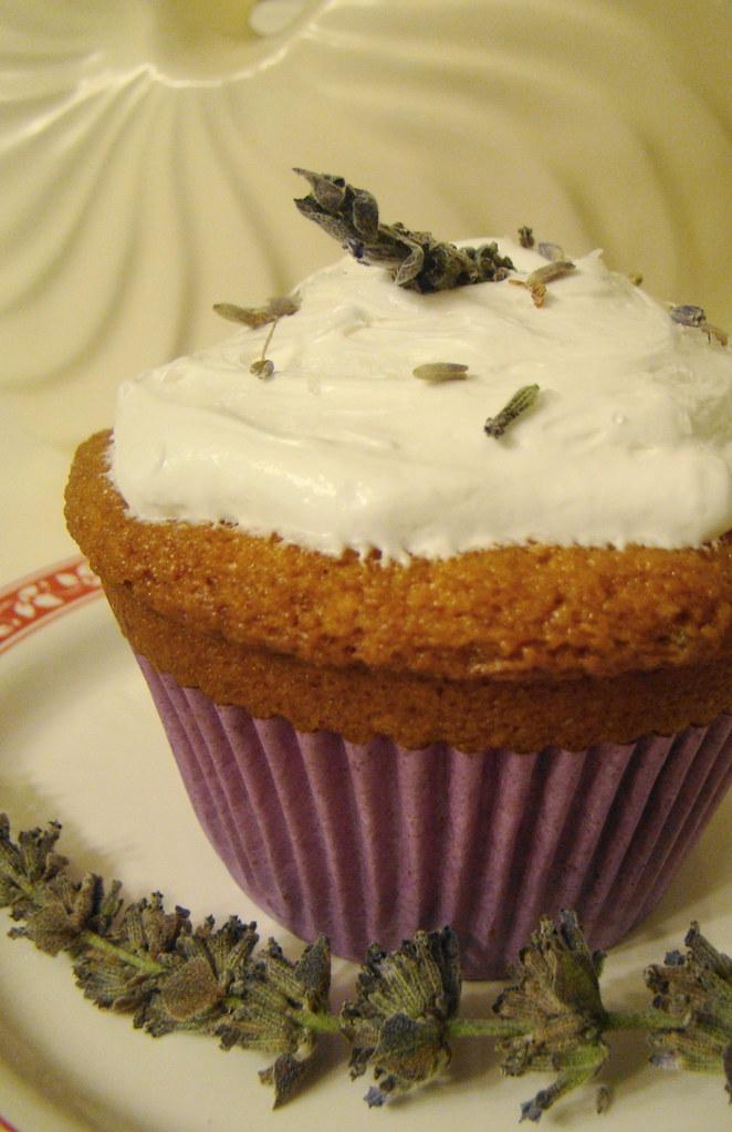 Vanilla Lavendar Cake