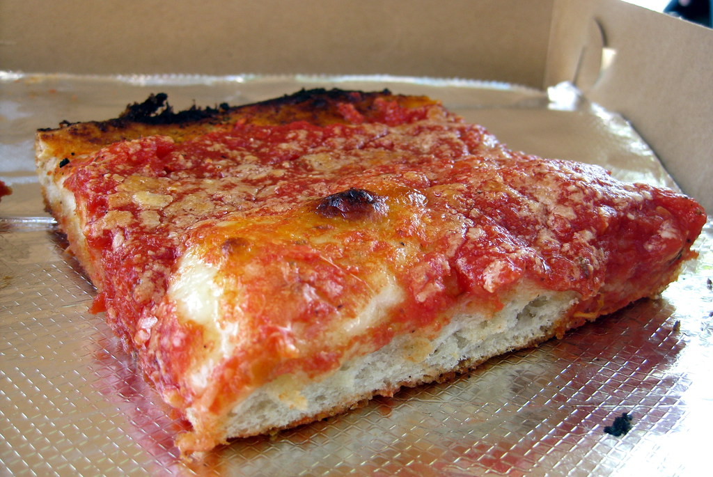 Nyc Brooklyn Bensonhurst L B Spumoni Gardens Pizzeria Flickr