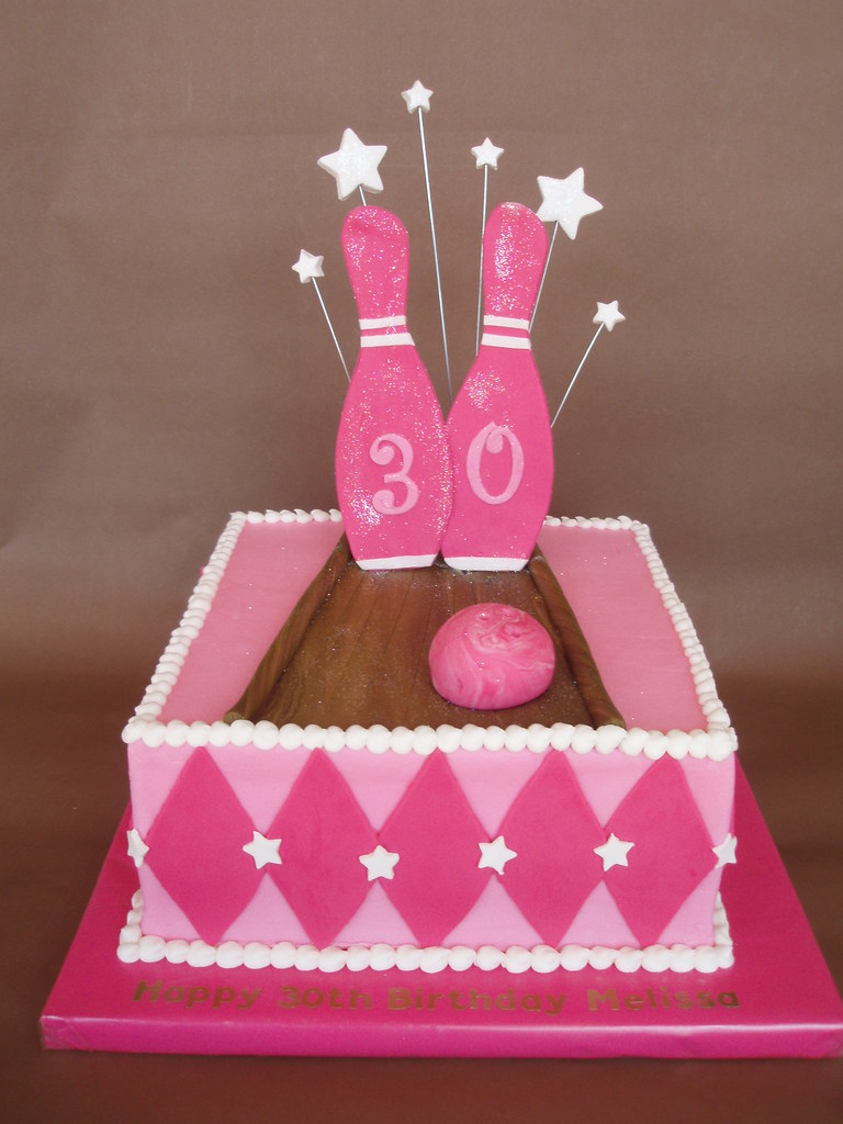 Bowling Birthday Party Cake Ideas