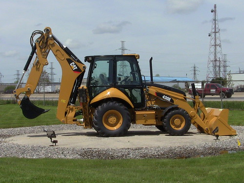 picture of a backhoe