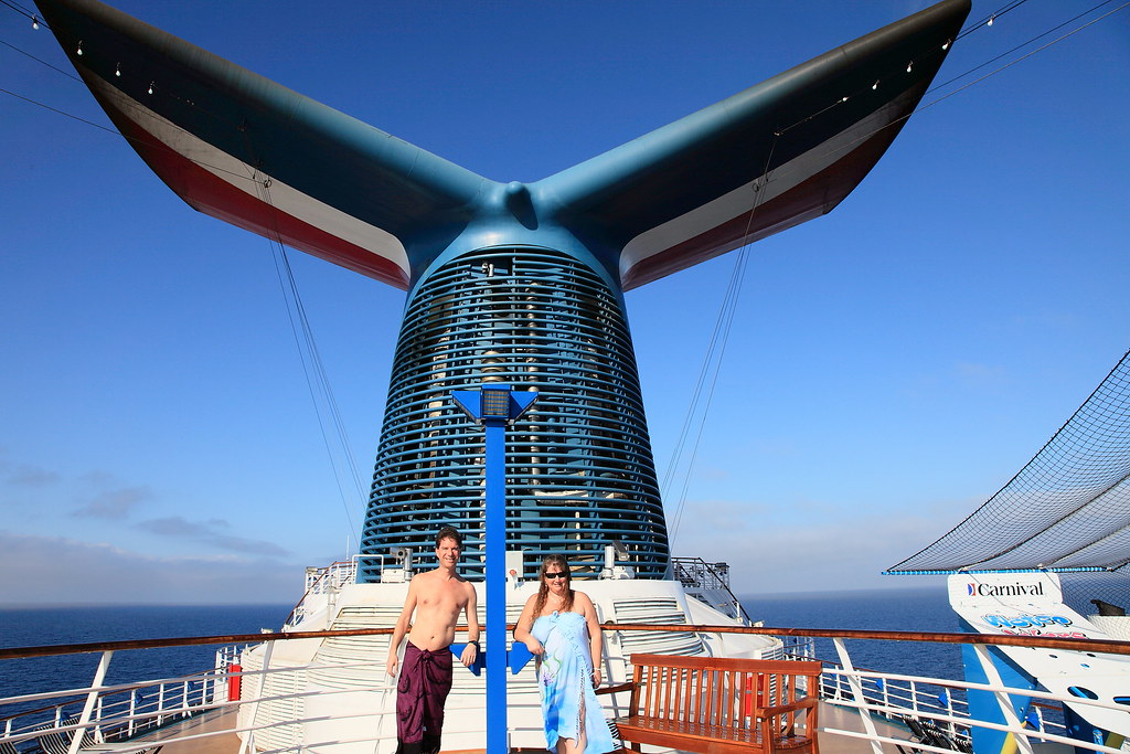 Carnival Whale Tail | During our various days at sea, and du… | Flickr