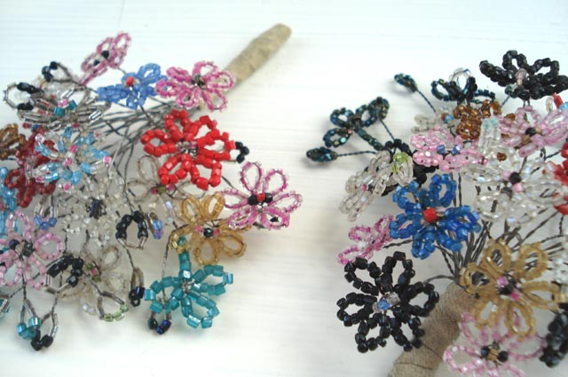 Antique french beaded flowers antique french beaded flower flickr antique french beaded flowers by such pretty things mightylinksfo