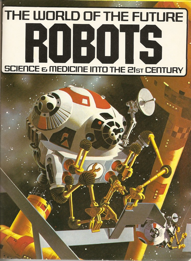 World Of The Future Robots Frontspiece Rigby Usborne