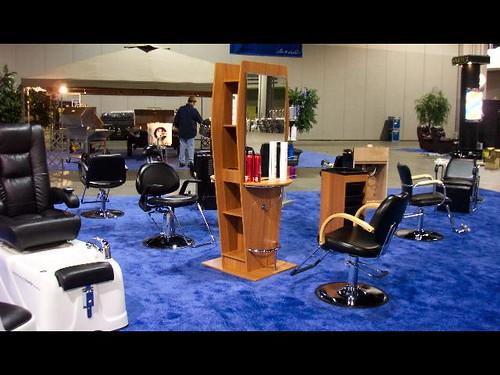 Beauty salon interior design beauty salon trade show flickr - Salon equipment international ...