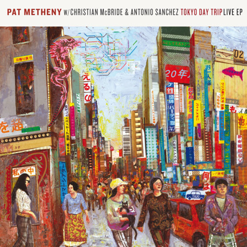 "Pat Metheny Trio, ""Tokyo Day Trip"" Album Art by Josh Georg ..."