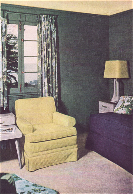 1950s Living Room Color Scheme This Is A Very Cool Color