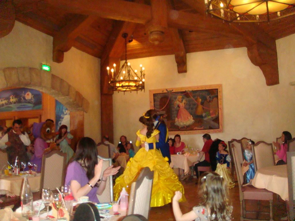Restaurante Auberge De Cendrillon Disneyland Paris Flickr