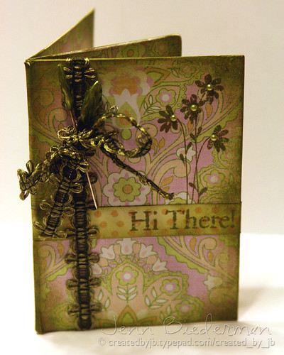 Hi There!  Gift Card Holder | by scrapperjjb