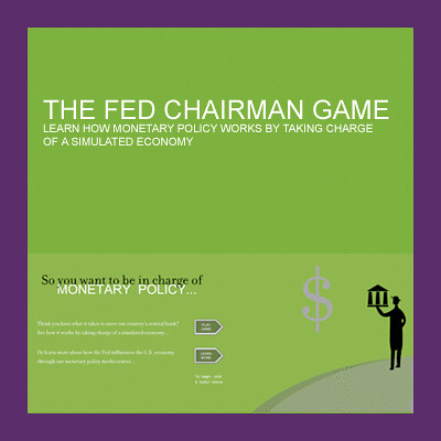 Fed chairman game learn how monetary policy works for Chair of the fed game