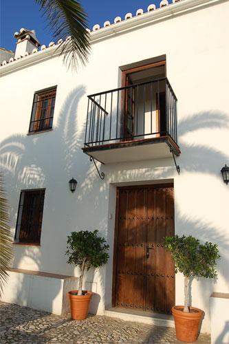 Fachada de una casa t pica andaluza en benalm dena flickr - Casas tipicas andaluzas ...