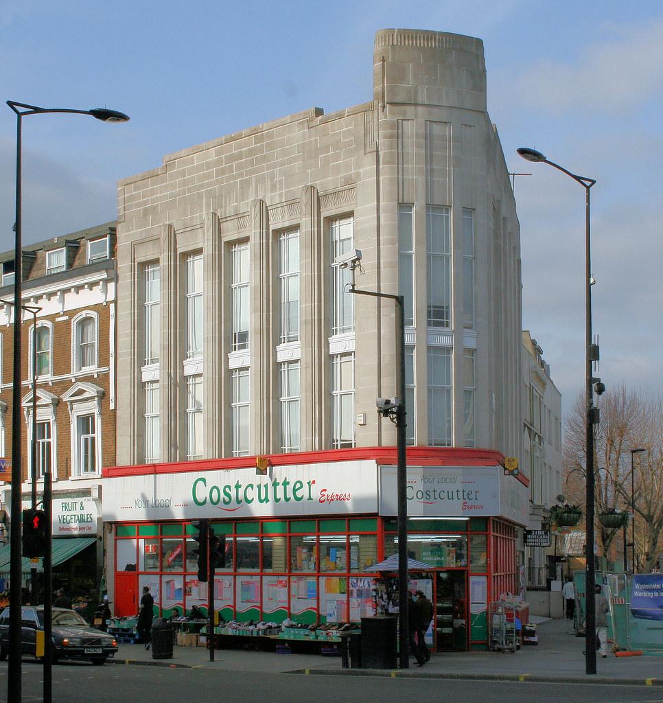 Light Shop Harrow Road: Former Burton's Store, Harrow Road, W9