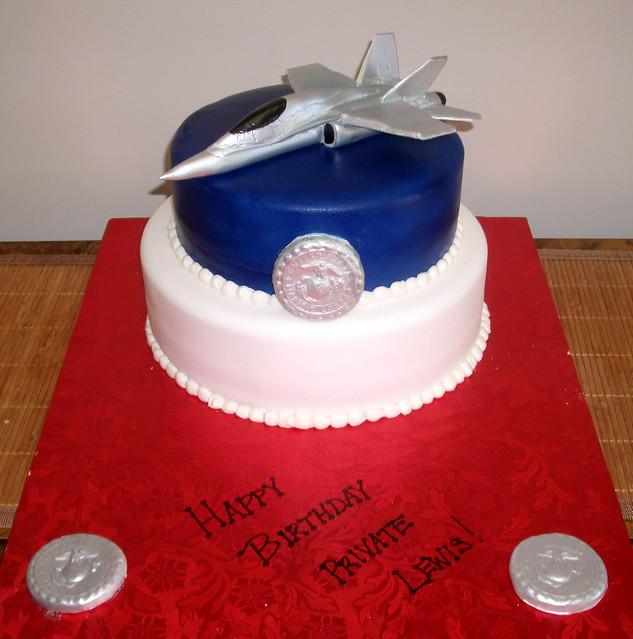 Birthday Cake Jet Blue President Robin Hayes