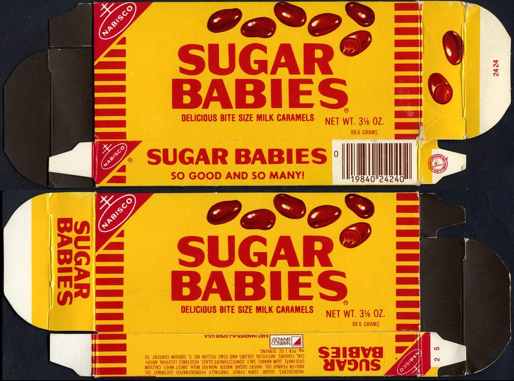 Nabisco Sugar Babies Candy Box 1980 S I Really Like