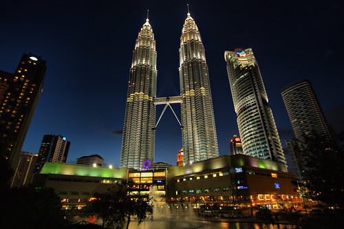 Twin Towers , Malaysia | by Marty Windle -Travel Photographer