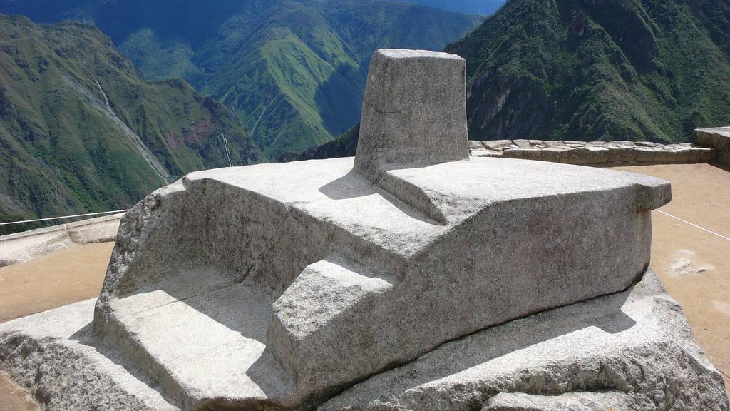 Intihuatana Reloj Solar Inca Www Enjoy Machu Picchu Org