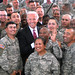 Vice President Biden and Soldiers at Camp Bondsteel, Kosovo