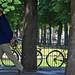 A Fold Up Bike In Paris