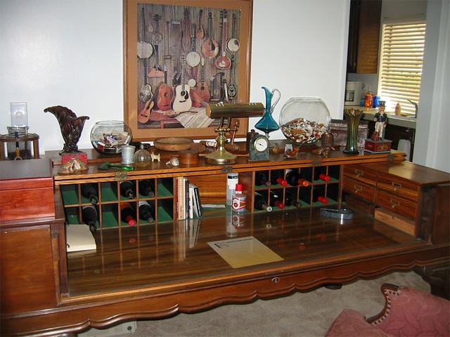... Antique Square Grand Piano Desk | by FinishWell - Antique Square Grand Piano Desk More Than A Desk, It's Pre… Flickr