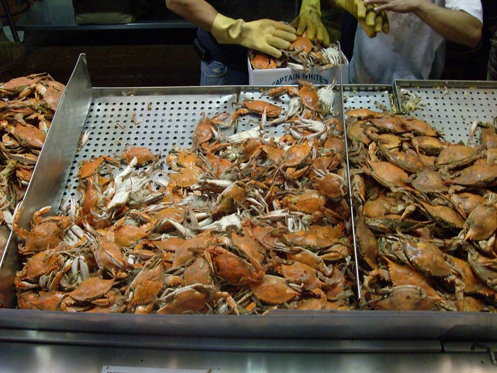 Crabs at maine avenue fish market washington dc august for Maine fish market