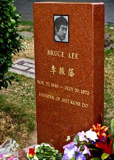 Bruce Lee's grave | by akraj