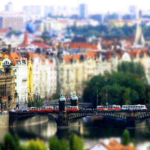 Overlooking the City of Prague (Miniature) | by Maì