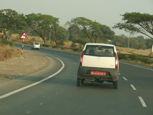 Tata Nano Pictures on Road | by Ravi Dixit