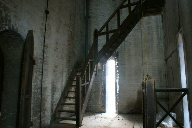 inside the water tower at cane hill asylum flickr photo sharing. Black Bedroom Furniture Sets. Home Design Ideas