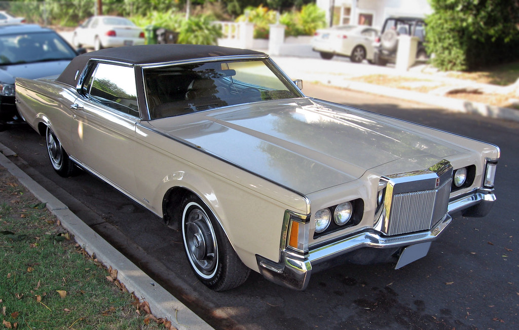 1970 Lincoln Continental Mark Iii Front 3q The Mark Iii