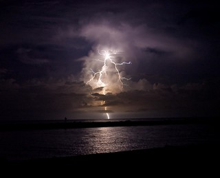 Lightning over the Gulf | by duane.schoon