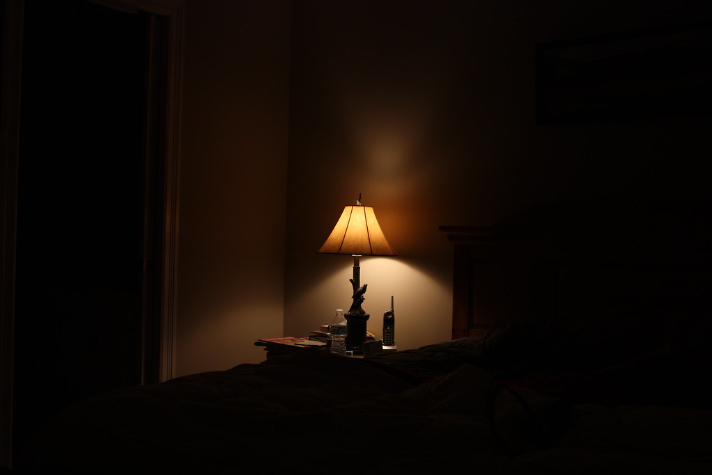 Lamp In A Dark Room Mcurtis7 Flickr